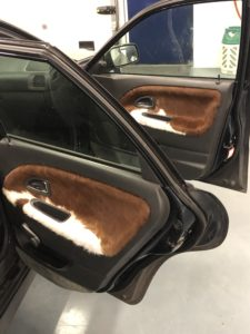 Right hand side doors